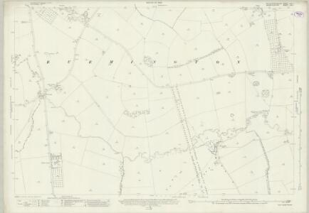 Gloucestershire XVA.1 (includes: Barcheston; Burmington; Cherington; Little Wolford; Long Compton; Todenham) - 25 Inch Map