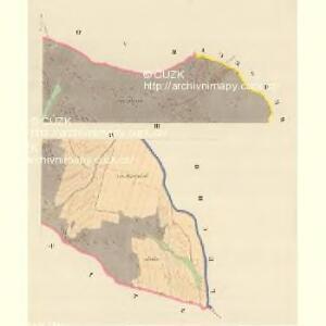 Pawlow - m2239-1-003 - Kaiserpflichtexemplar der Landkarten des stabilen Katasters