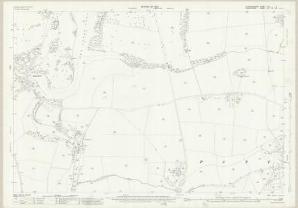 Staffordshire LXI.6 (includes: Patshull; Pattingham; Rudge; Worfield) - 25 Inch Map