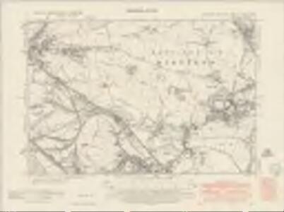 Yorkshire CCLXXV.SW - OS Six-Inch Map