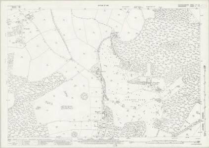 Buckinghamshire XLV.12 (includes: Pishill with Stonor; Turville) - 25 Inch Map