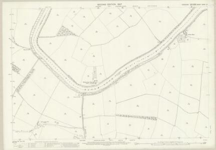 Yorkshire CCXXI.16 (includes: Barlow; Cliffe) - 25 Inch Map