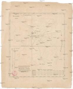 Trigonometrisches Netz als Grundlage zur Charte vom Egerlande