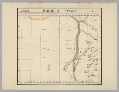 Partie du Fezzan. Afrique 9.