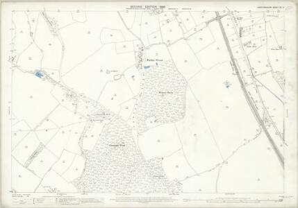 Hertfordshire XX.3 (includes: Knebworth; Langley; Stevenage) - 25 Inch Map
