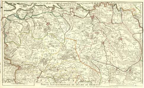 Partie Septentrionale du Duché de Brabant