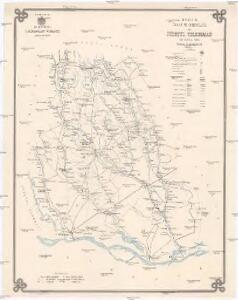 Harta cailor de comunicatie din Judetul Teleorman