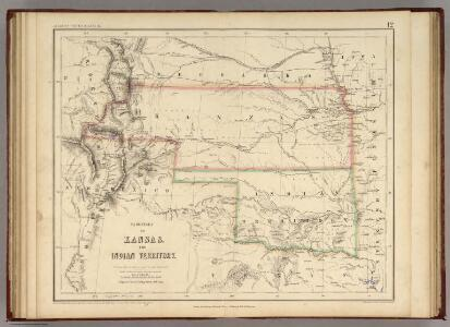 Territory of Kansas And Indian Territory.