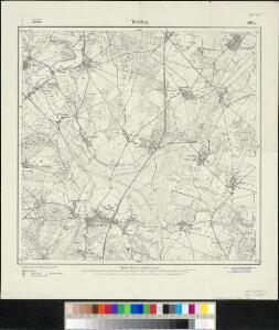 Meßtischblatt 2042 : Trebbin, 1919