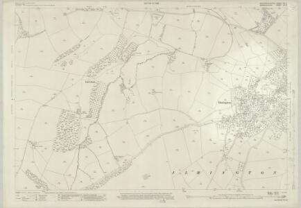 Gloucestershire VIII.2 (includes: Admington; Ilmington) - 25 Inch Map
