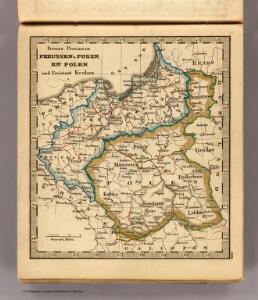 Preussen, Posen, Polen, Krakau.