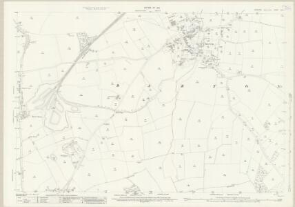 Yorkshire XXV.11 (includes: Barton; Melsonby; Middleton Tyas) - 25 Inch Map