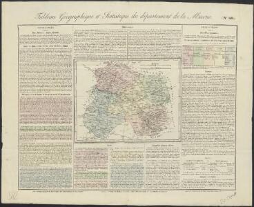 Tableau géographique et statistique du département de la Marne