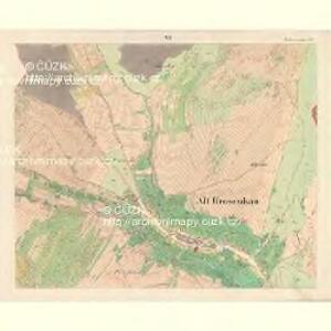 Alt Hrosenkau (Stary Hrasenkow) - m2868-1-005 - Kaiserpflichtexemplar der Landkarten des stabilen Katasters