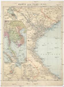 Karte von Tong-King