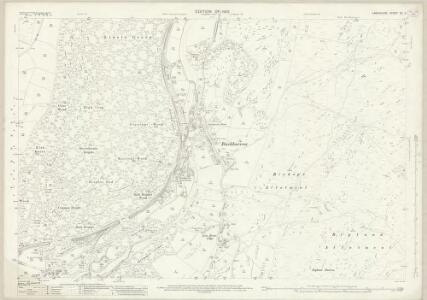 Lancashire XII.2 (includes: Haverthwaite; Staveley) - 25 Inch Map