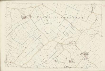 Cumberland XXVII.11 (includes: Holme St Cuthbert) - 25 Inch Map