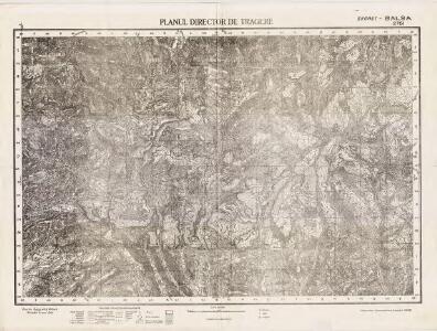 Lambert-Cholesky sheet 2761 (Balșa)