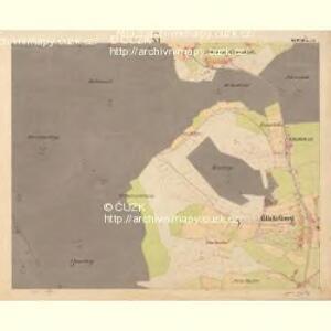 Glöckelberg - c9317-3-011 - Kaiserpflichtexemplar der Landkarten des stabilen Katasters