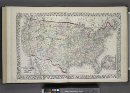 Map of The United States, and Territories. Together with Canada & c. ; Island of Newfoundland