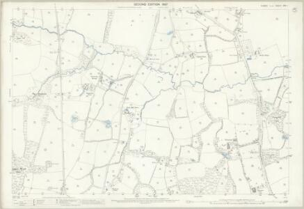 Sussex XXV.4 (includes: Cuckfield Rural; Slaugham) - 25 Inch Map