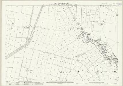 Lincolnshire XXV.2 (includes: Belton; Epworth) - 25 Inch Map