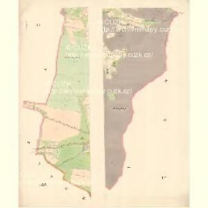 Zubrzy (Zubřzy) - m3614-1-004 - Kaiserpflichtexemplar der Landkarten des stabilen Katasters