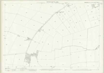 Lincolnshire LXXXVII.10 (includes: Ashby De La Launde and Bloxholm; Rowston; Scopwick) - 25 Inch Map