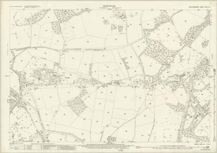 Hertfordshire XXXV.12 (includes: Bishops Hatfield; Essendon) - 25 Inch Map