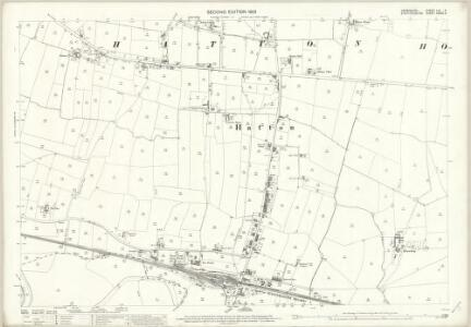 Derbyshire LIII.11 (includes: Foston and Scropton; Hatton; Hoon; Tutbury) - 25 Inch Map