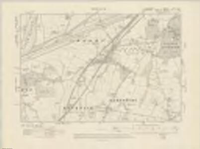 Lancashire CXV.SE - OS Six-Inch Map