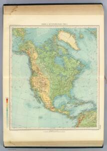 121-22. America Settentrionale fisica.