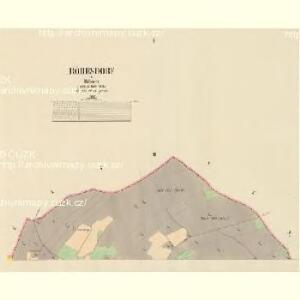 Röhrsdorf - c4136-2-001 - Kaiserpflichtexemplar der Landkarten des stabilen Katasters