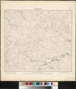 Meßtischblatt 3621 : Lützelhausen, 1883