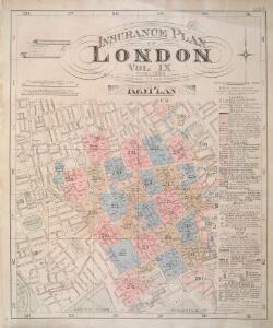 Insurance Plan of London Vol. IX: Key Plan