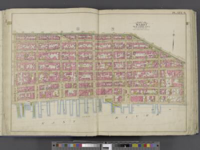 Manhattan, Double Page Plate No. 6 [Map bounded by Division St., Grand St., Corlears St., East River, Market St.]