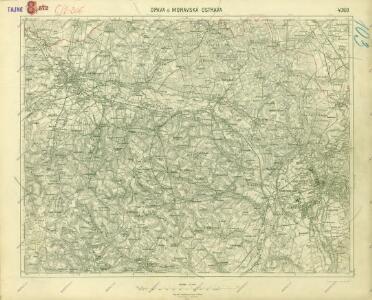 III. vojenské mapování 4060
