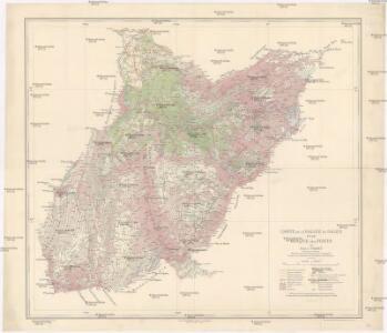 Carte de la Vallée de Sales