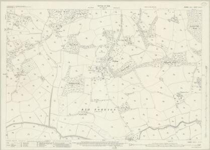 Sussex XLV.5 (includes: Peasmarsh; Udimore) - 25 Inch Map