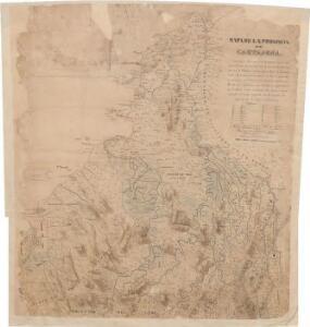 Mapa de la provincia de Cartajena