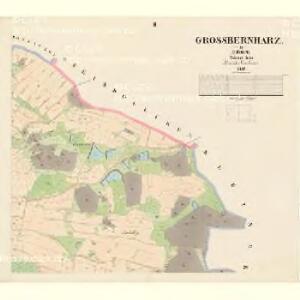 Grossbernharz - c0092-1-002 - Kaiserpflichtexemplar der Landkarten des stabilen Katasters