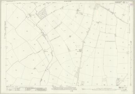 Gloucestershire III.7 (includes: Bickmarsh; Dorsington; Pebworth) - 25 Inch Map