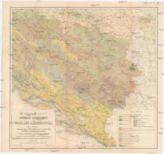 Geologische Ubersichtskarte von Bosnien-Hercegovina