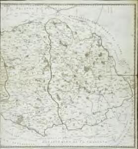 Carte des départements Vengé, des deux Sevres, et de la Vienne, 2