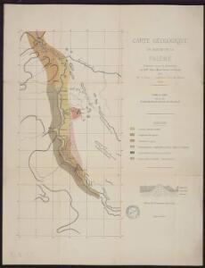 Carte géologique du bassin de la Falémé
