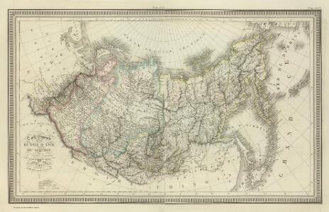 Composite:  Carte Generale de la Russie d'Asie ou Siberie.