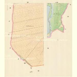 Gross Heilendorf (Hruby Postromow) - m2383-1-003 - Kaiserpflichtexemplar der Landkarten des stabilen Katasters