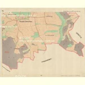Klein Chmelna - c4368-1-004 - Kaiserpflichtexemplar der Landkarten des stabilen Katasters