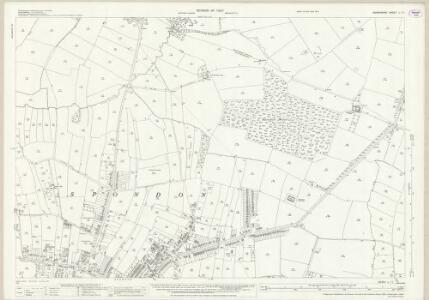 Derbyshire L.11 (includes: Chaddesden; Ockbrook; Spondon) - 25 Inch Map