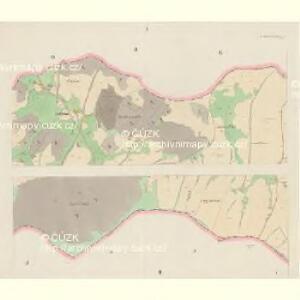 Giesshübel (Wolessnice) - c5448-1-001 - Kaiserpflichtexemplar der Landkarten des stabilen Katasters